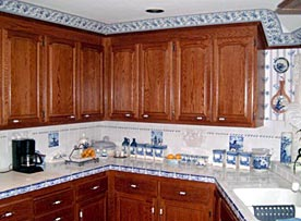 Winfield Construction kitchen cabinets