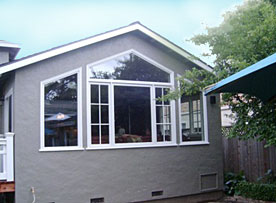 Winfield Construction custom windows